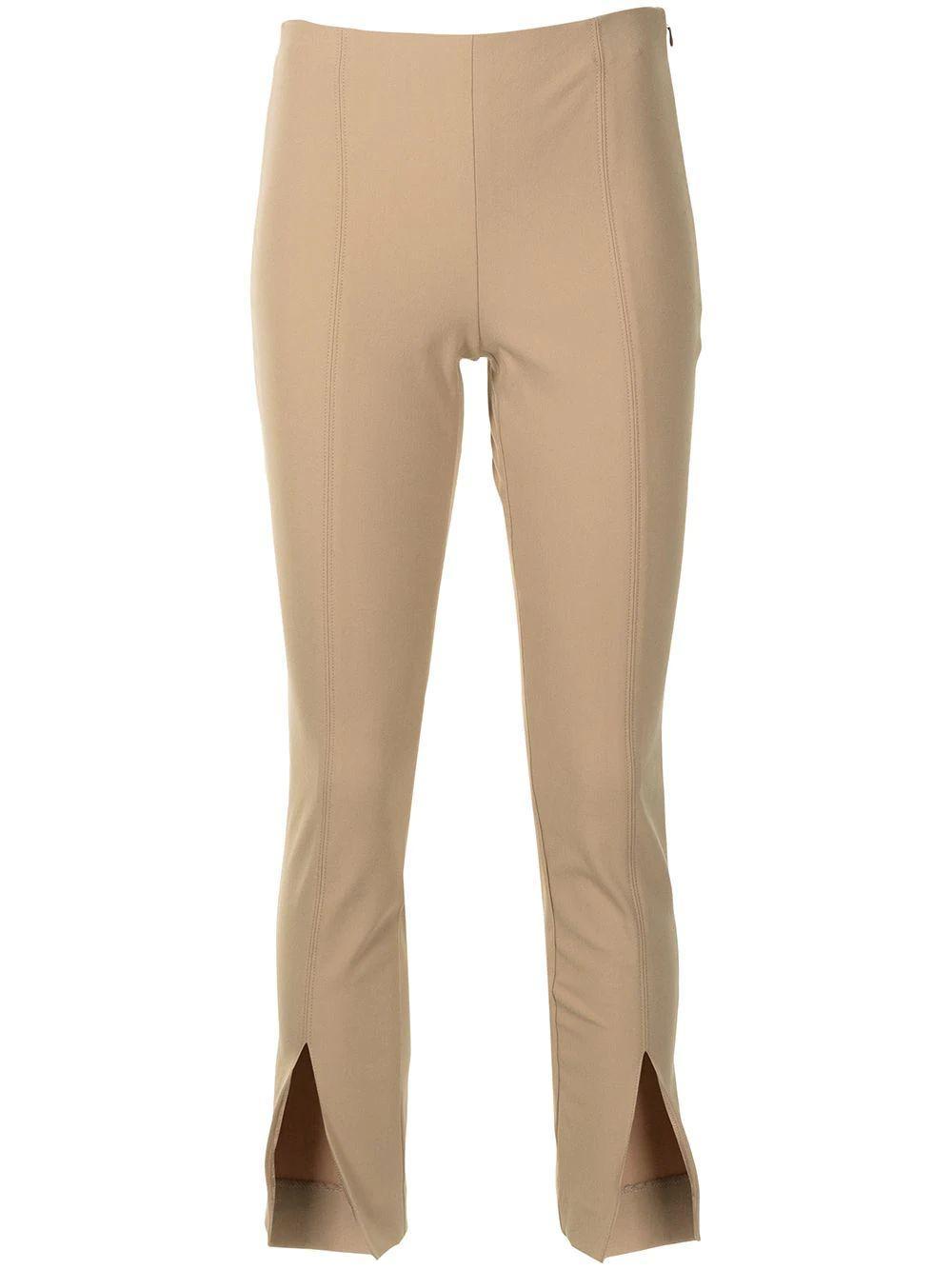 Slit Front Side Zip Pant