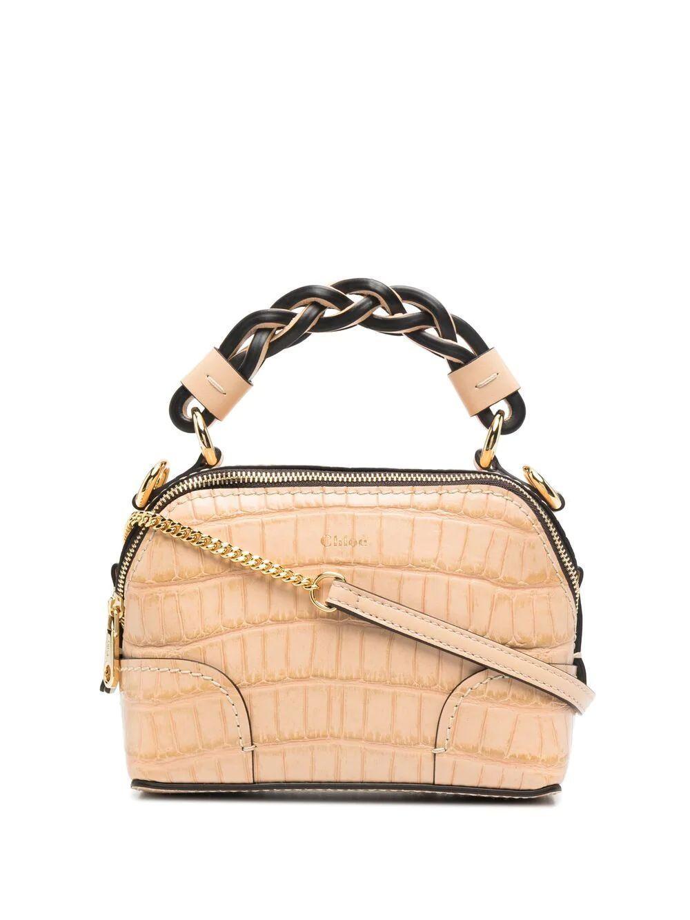Mini Daria Croc Bag
