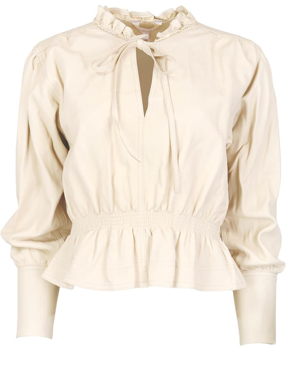 Glove Leather Blouse