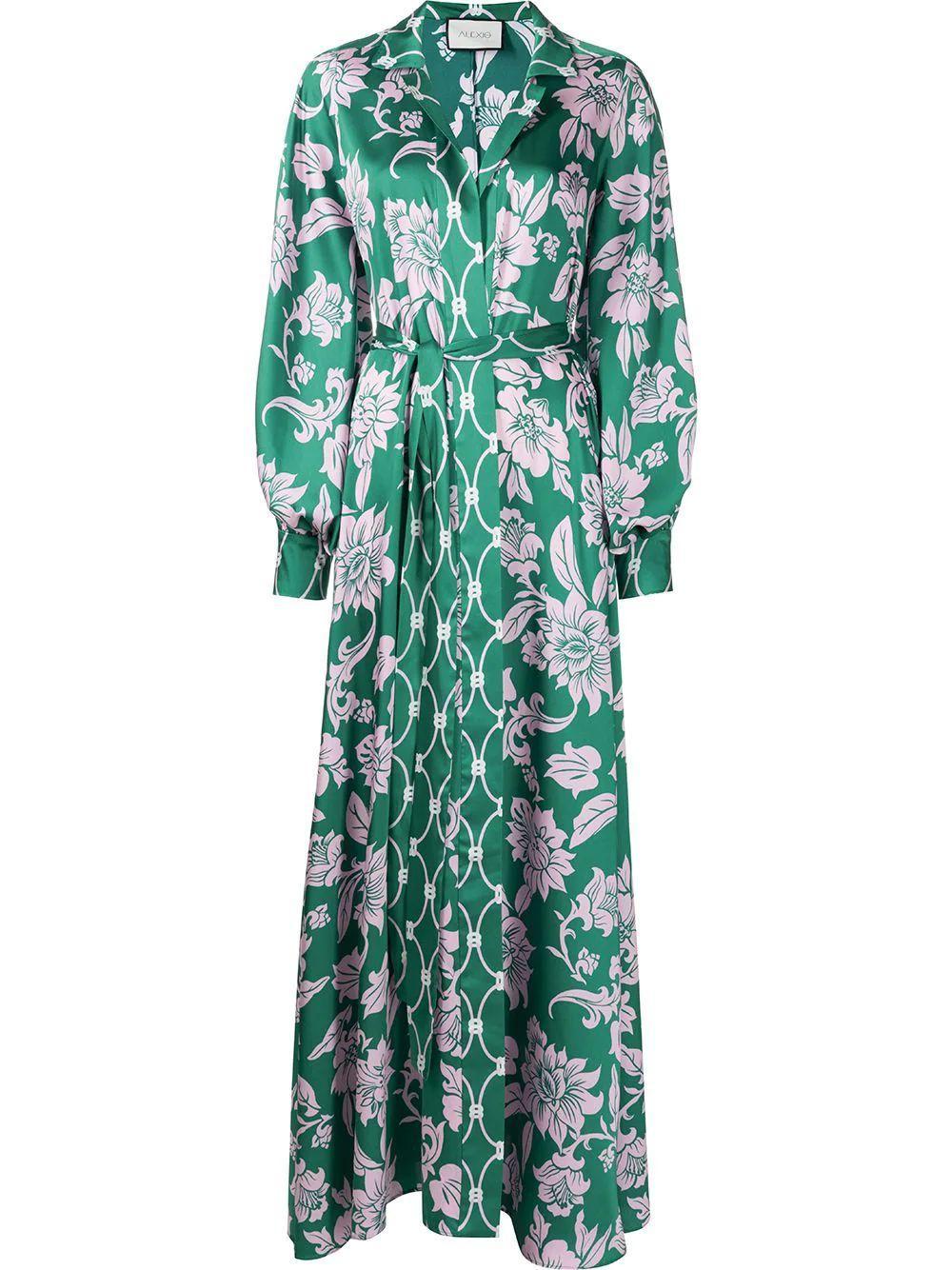 Basila Floral Maxi Dress