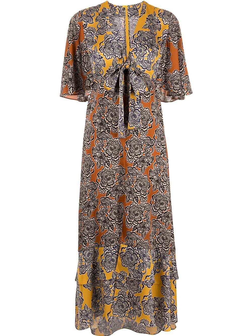 Rajana Printed Dress Item # A1210410-6988