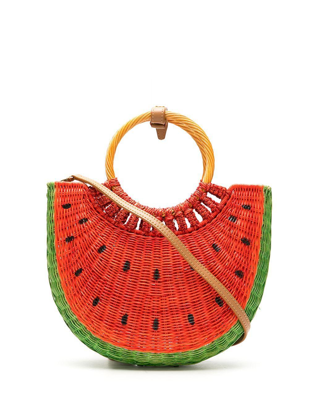 Watermelon Basket Tote
