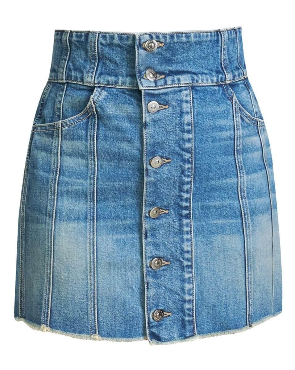 Flora Jean Mini Skirt Item # J21039340919LS