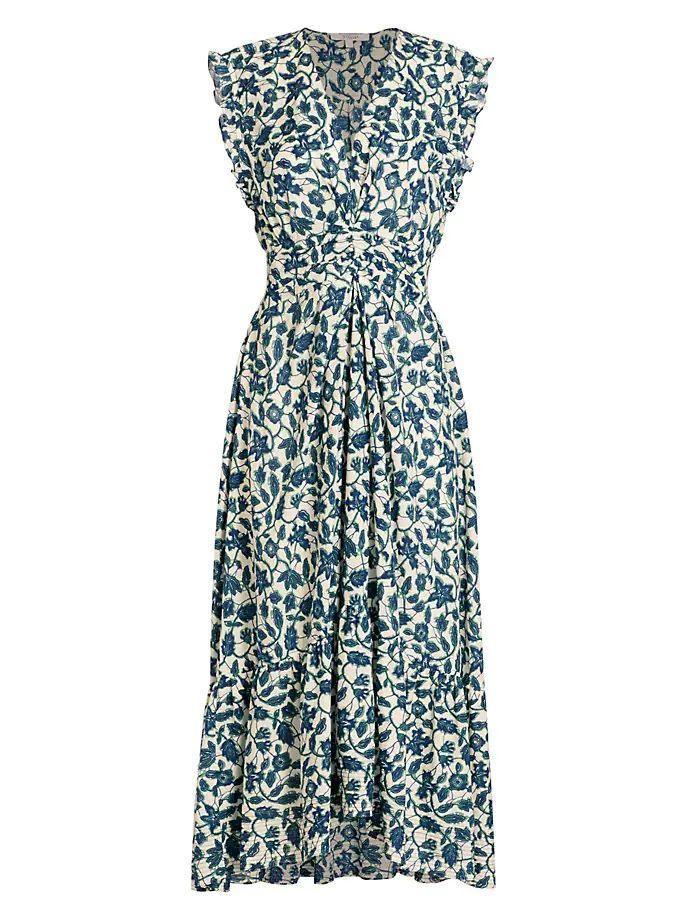 Kris Floral Maxi Dress