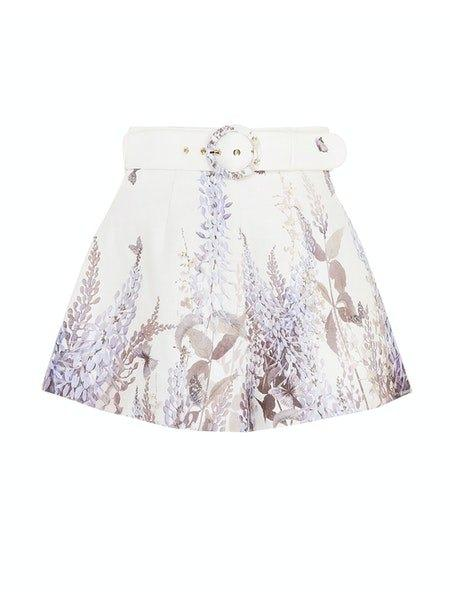 Luminous Belted Butterfly Short