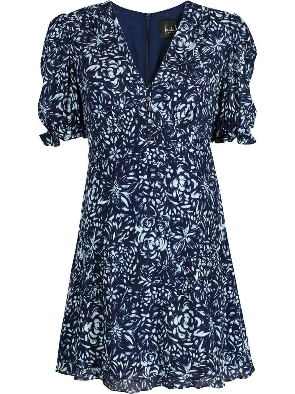 Evening Garden Mini Dress Item # CD18674
