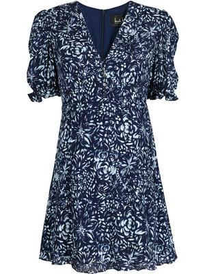 Evening Garden Mini Dress