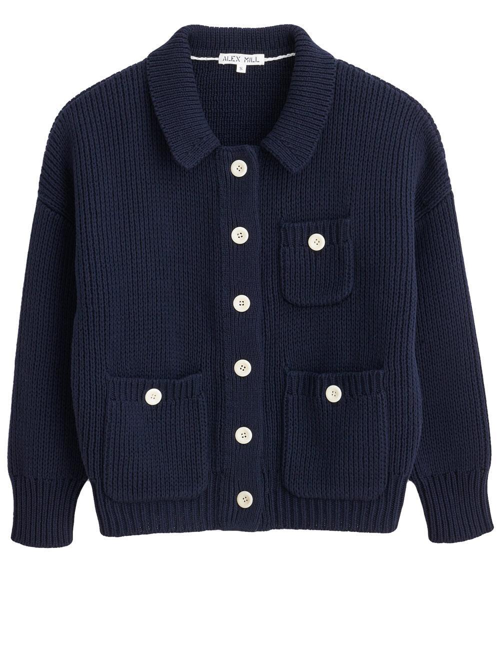 Work Sweater Jacket