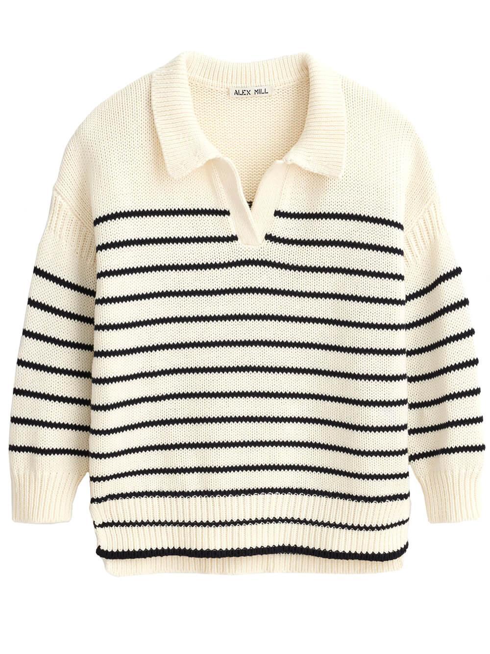 Jaques Striped Sweater Item # 211-WW078-2173