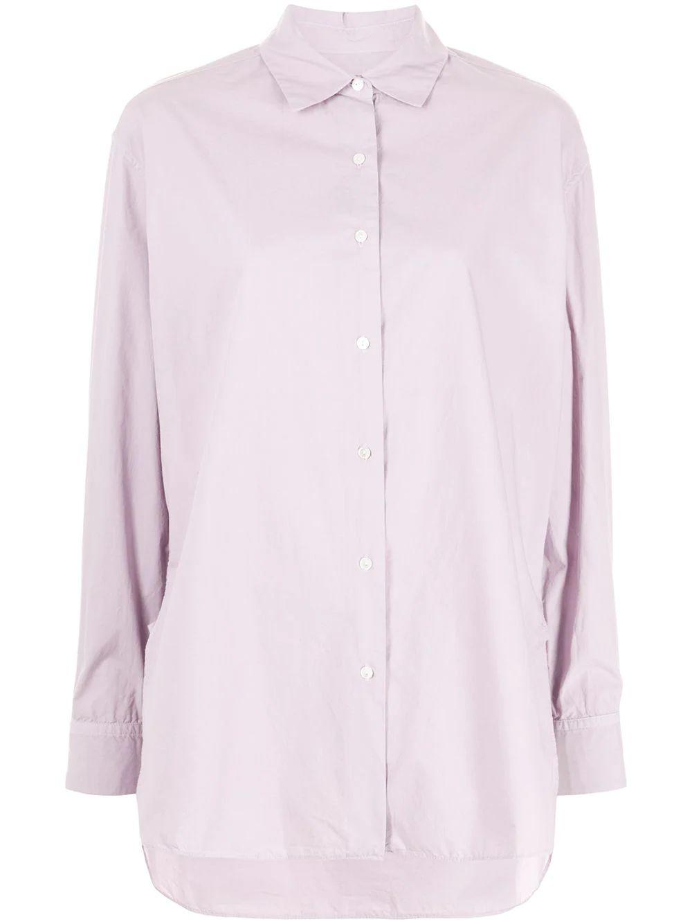 Yorke Oversized Button Up Shirt Item # 00236-W154