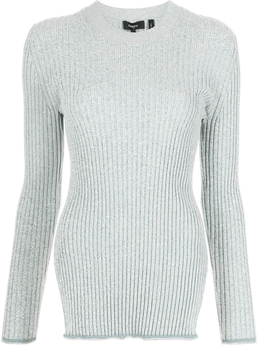 Mouline Rib Knit Sweater Item # L0116715