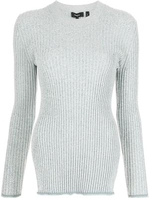 Mouline Rib Knit Sweater