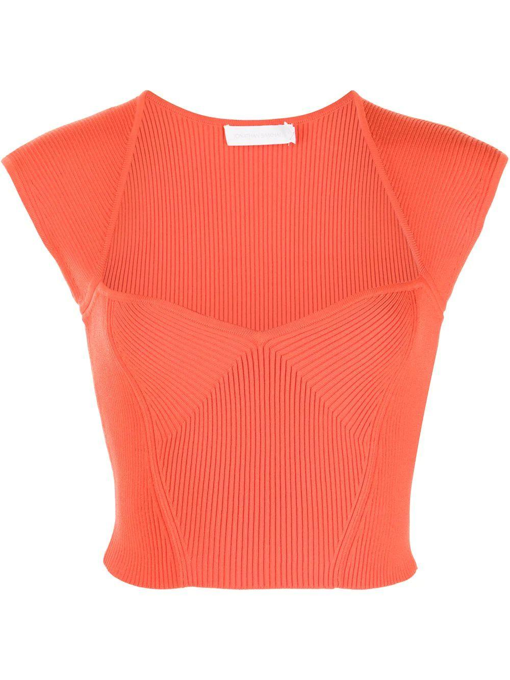 Abia Cropped Top Item # 221-2014-K