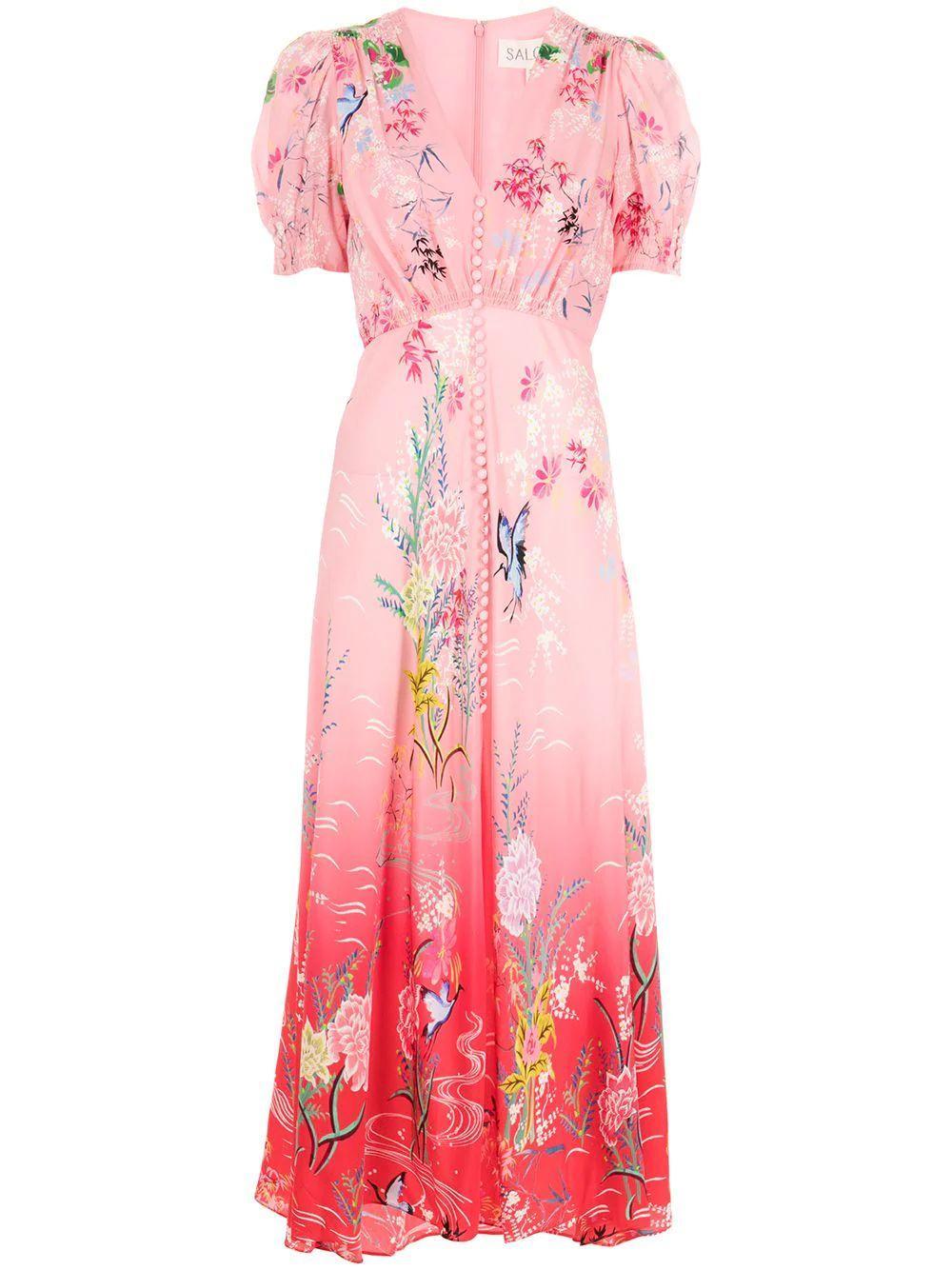 Lea Printed Dress Item # 1764-S21