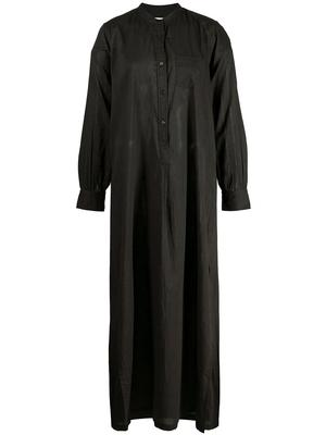 Sandra Maxi Shirt Dress