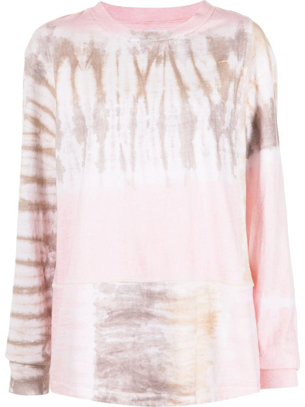 Reconstructed Tie Dye Tee Item # WA239M14745A