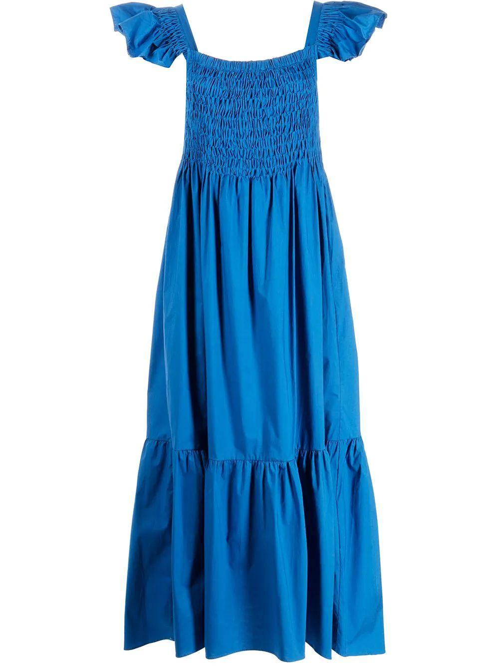 Varsha Smocked Maxi Dress