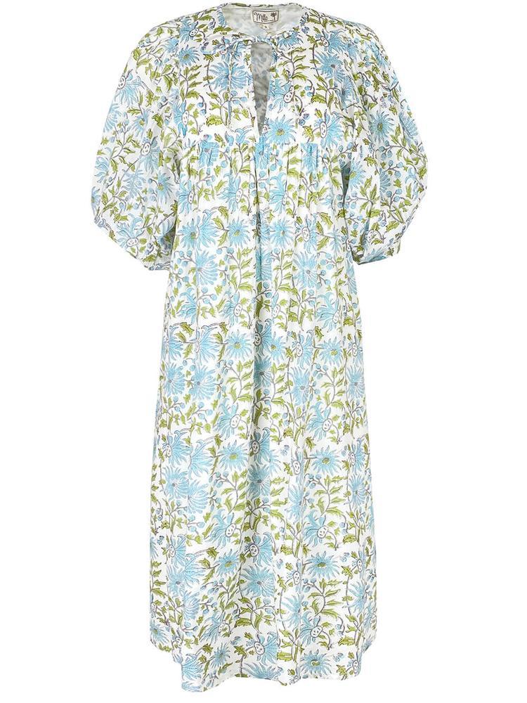 Saffron Printed Dress