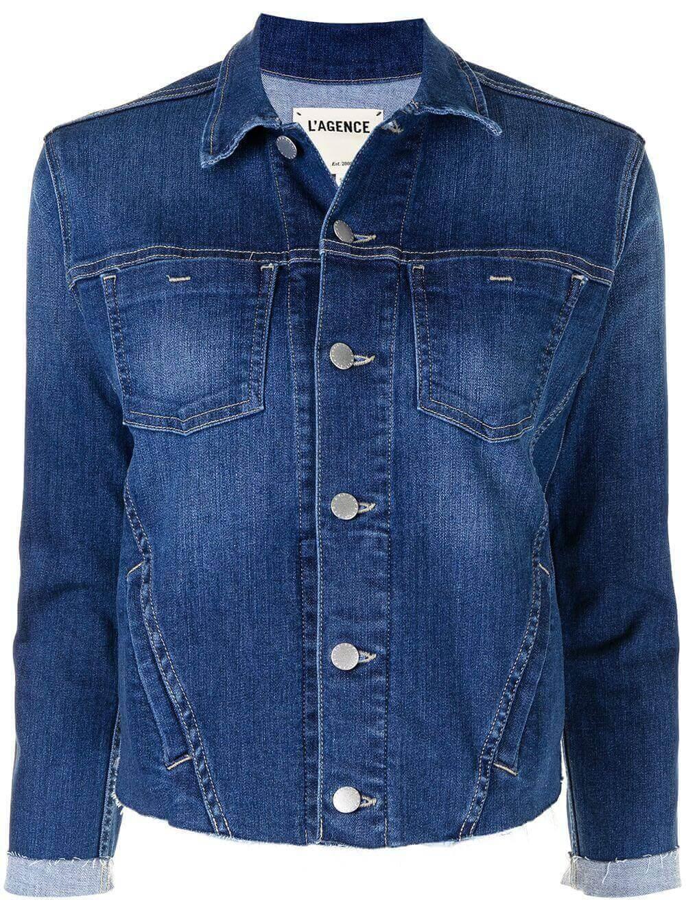 Janelle Denim Jacket Item # 1431D18