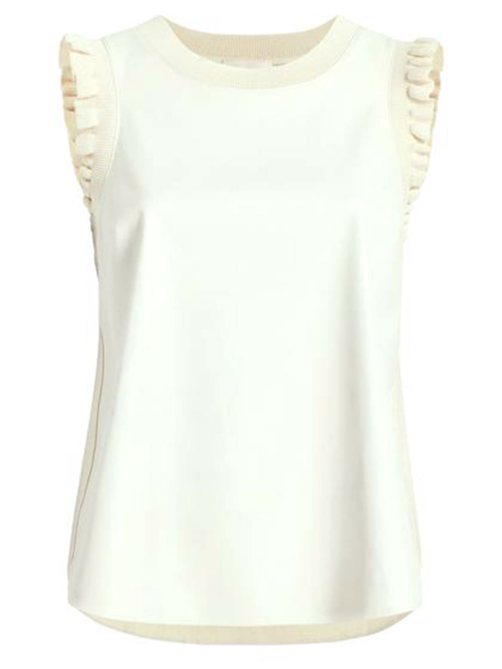Lenore Faux Leather Top Item # ZK3564370Z