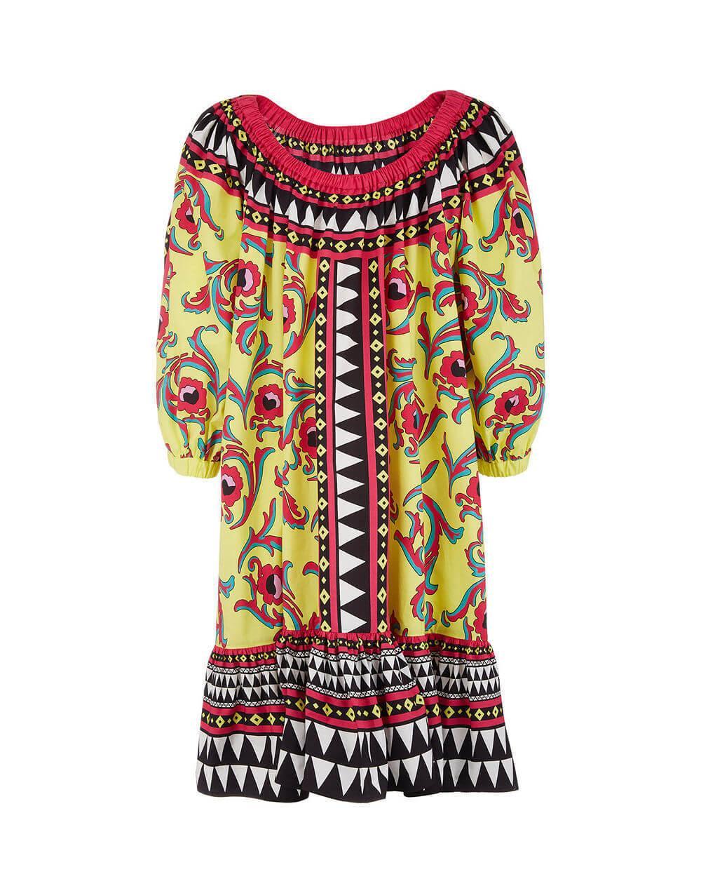 Short Paloma Dress Item # DRE0226-COT015
