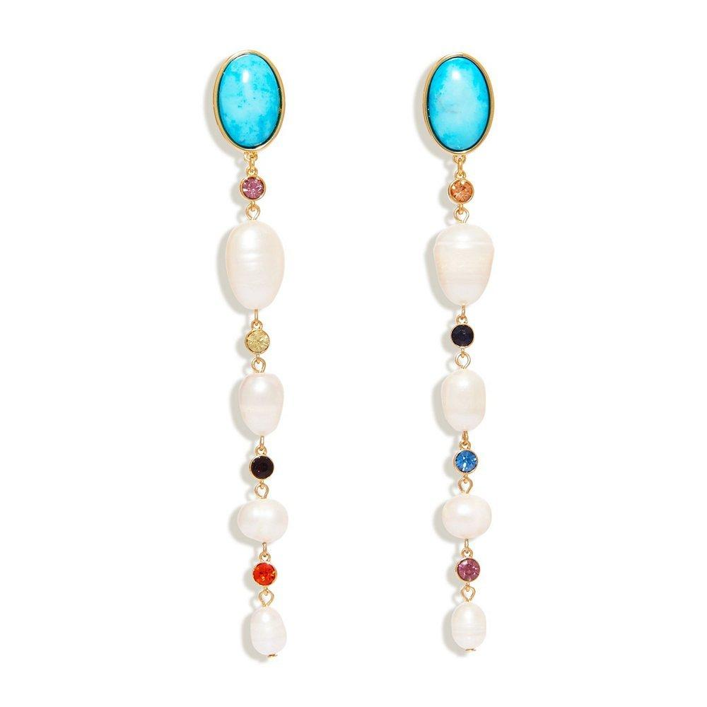 Lyford Mixed Dangle Earrings