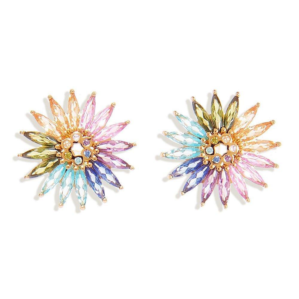 Crystal Madeline Stud Earrings Item # E258-981