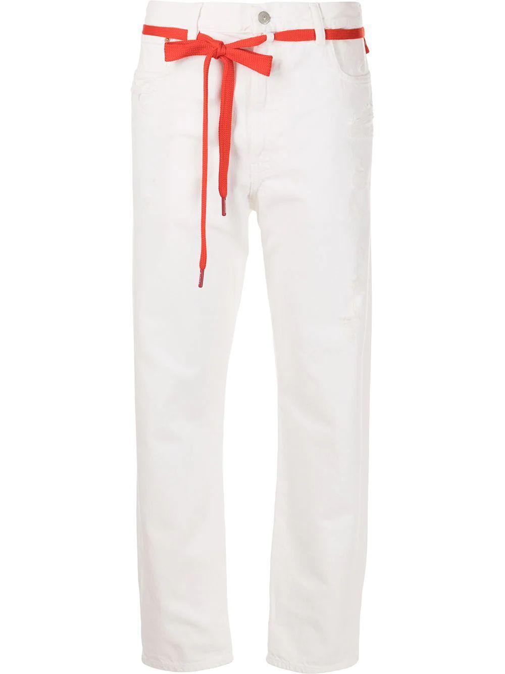 Harper Shoelace Belt Jean