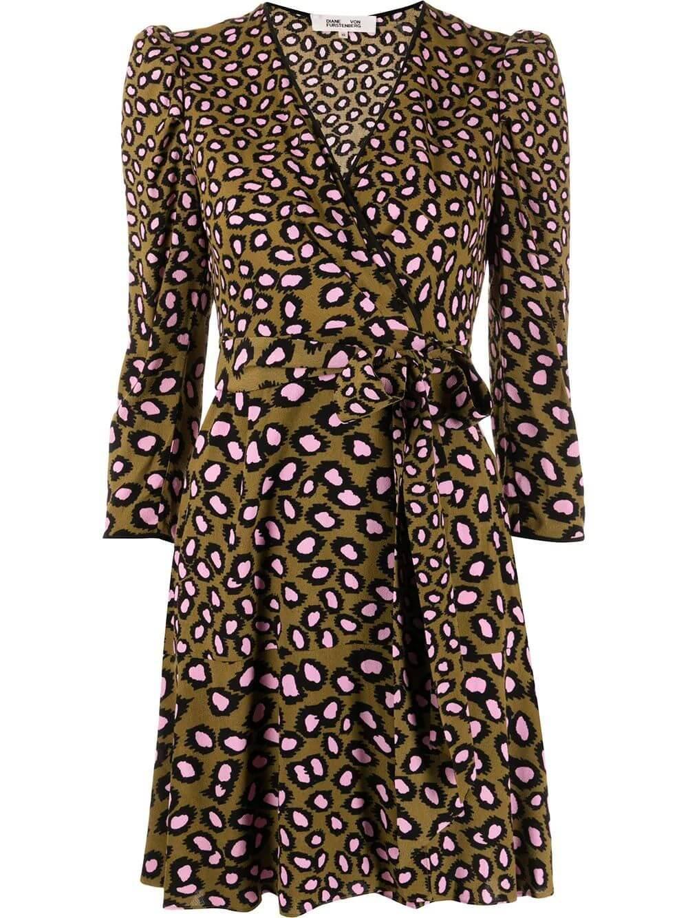 Charlene Wrap Dress