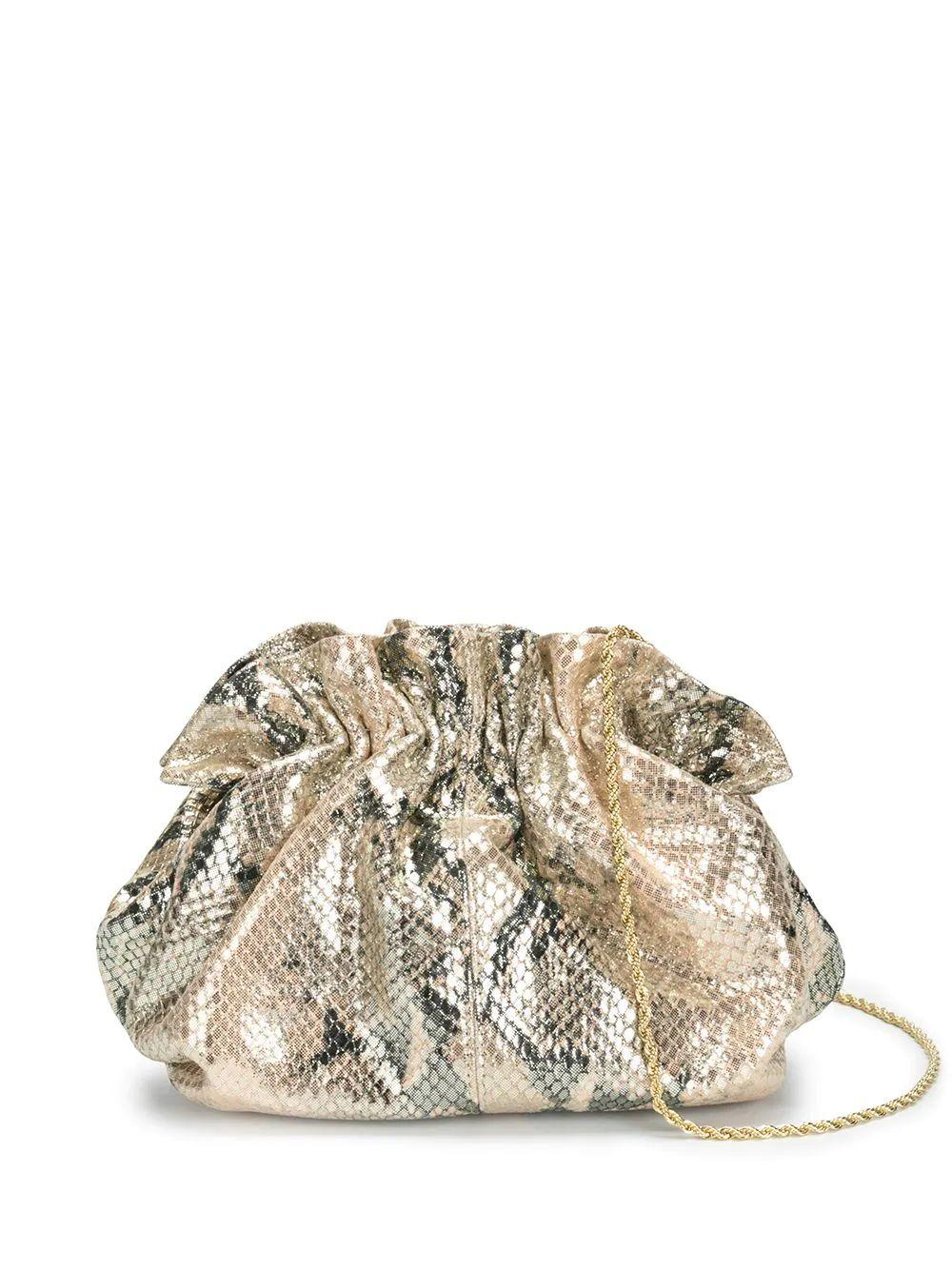 Willa Disco Embossed Snake Bag