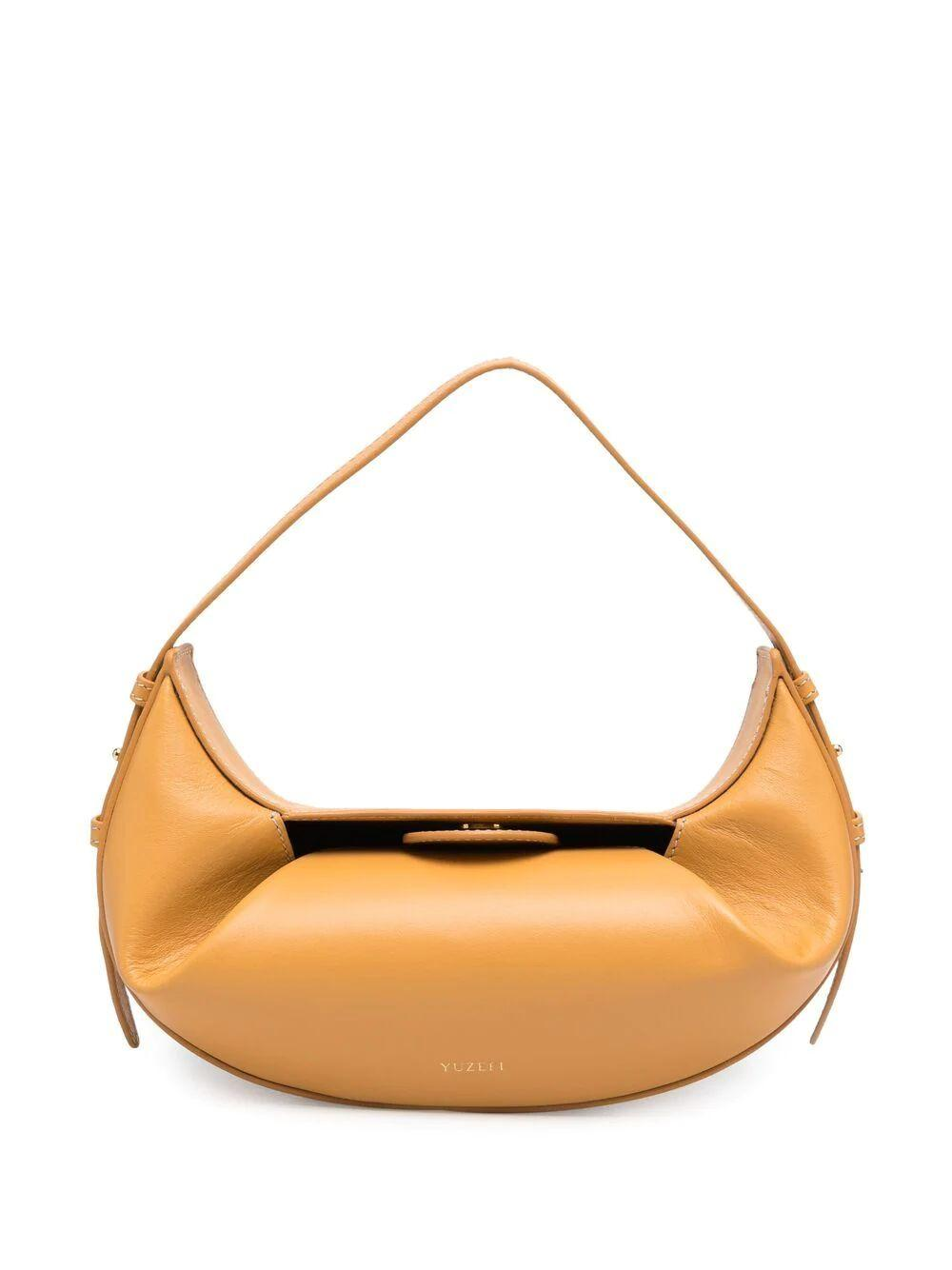 Mini Fortune Cookie Shoulder Bag Item # YUZSS21-HB-FM-09