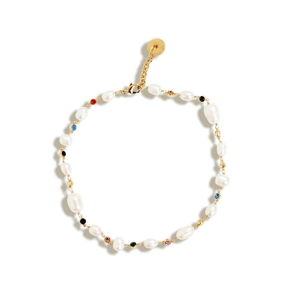 Lyford Mixed Rainbow Pearl Necklace Item # N137-107