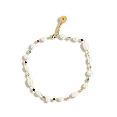 Lyford Mixed Rainbow Pearl Necklace