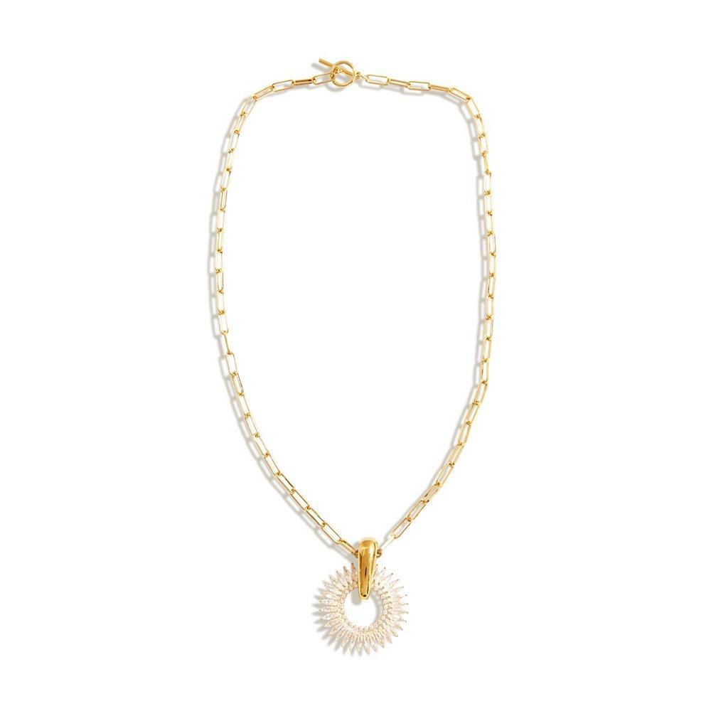 Crystal Madeline Pendant Necklace Item # N166-471