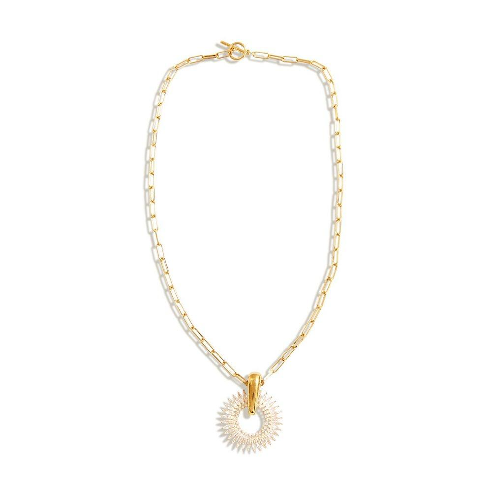 Crystal Madeline Pendant Necklace