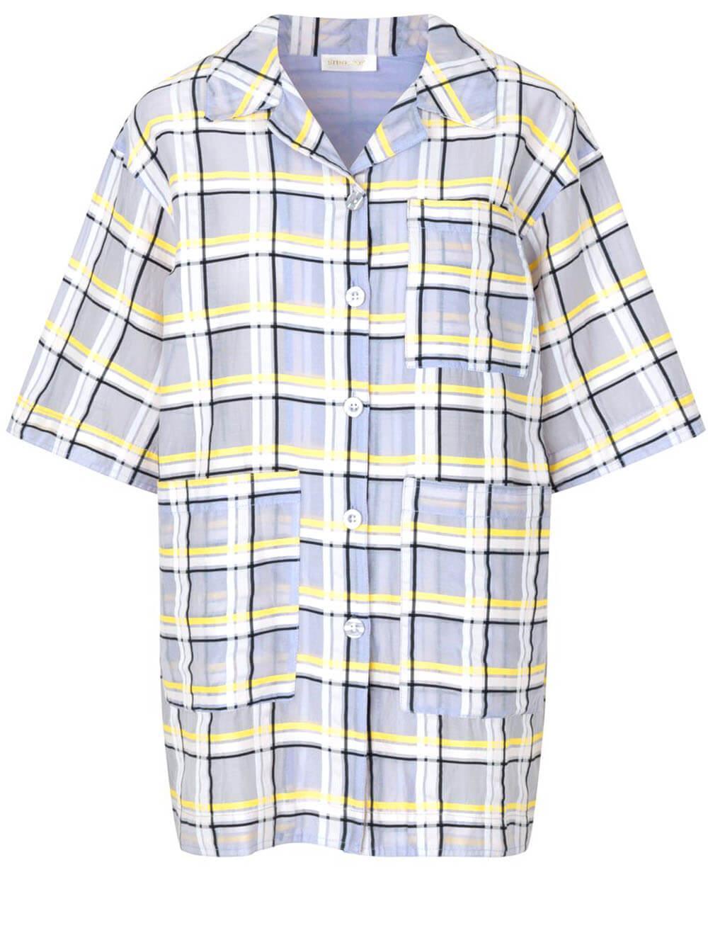 Skyla Camp Shirt Item # SG3568