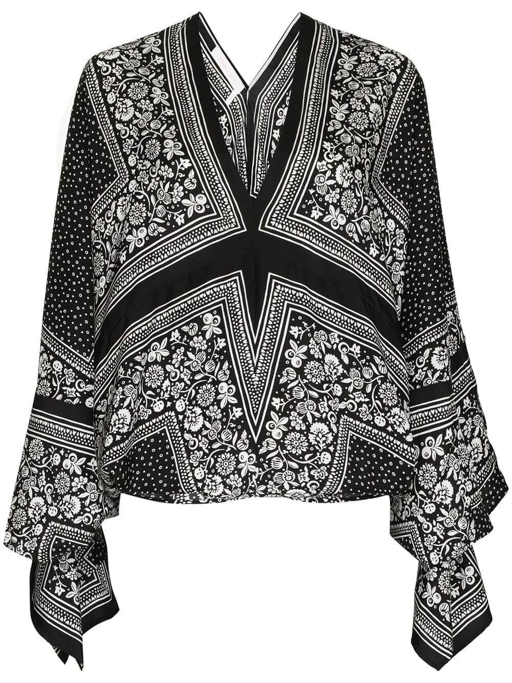 Portobello Printed Blouse