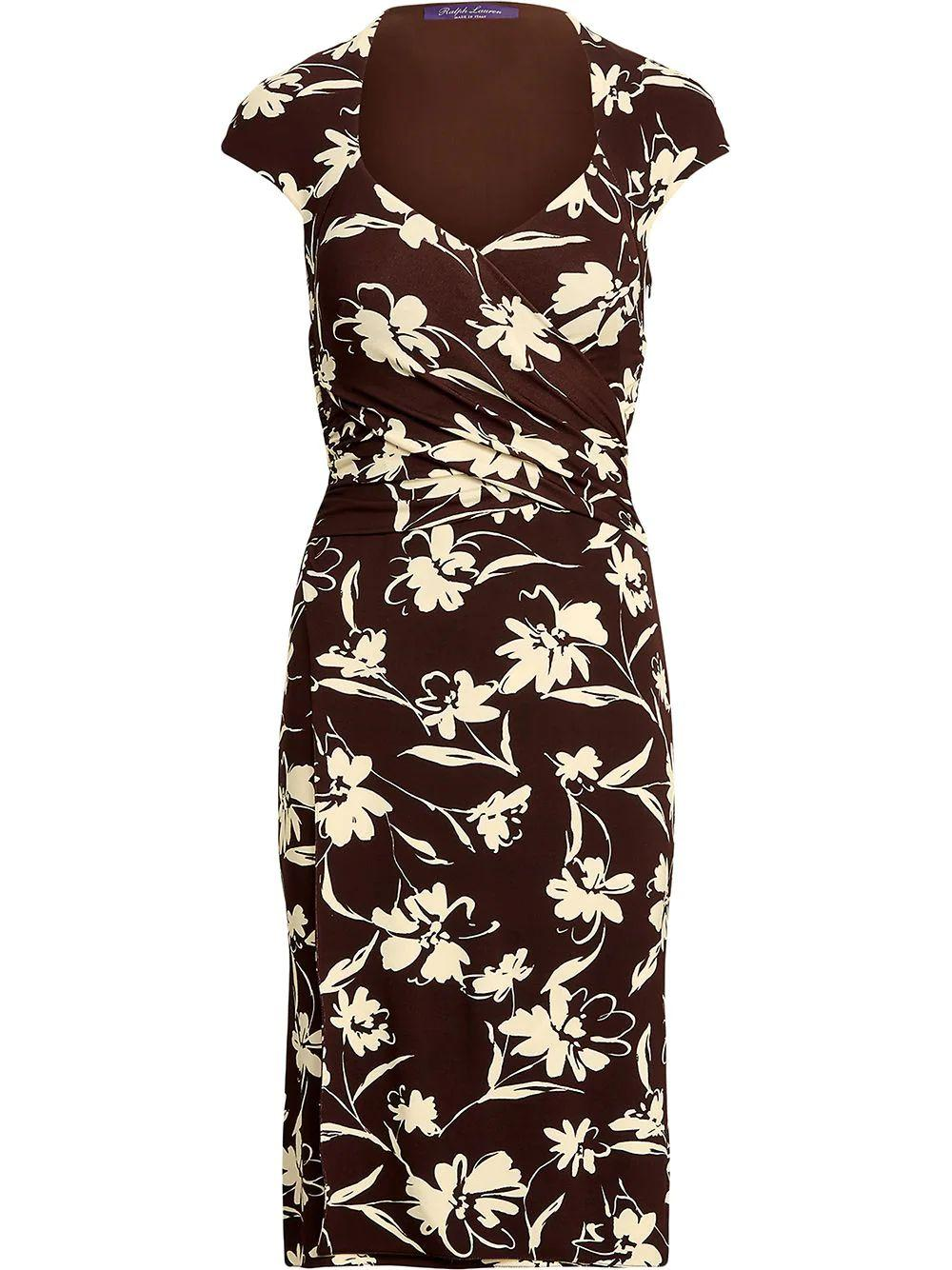 Jaela Floral Day Dress Item # 290840869001