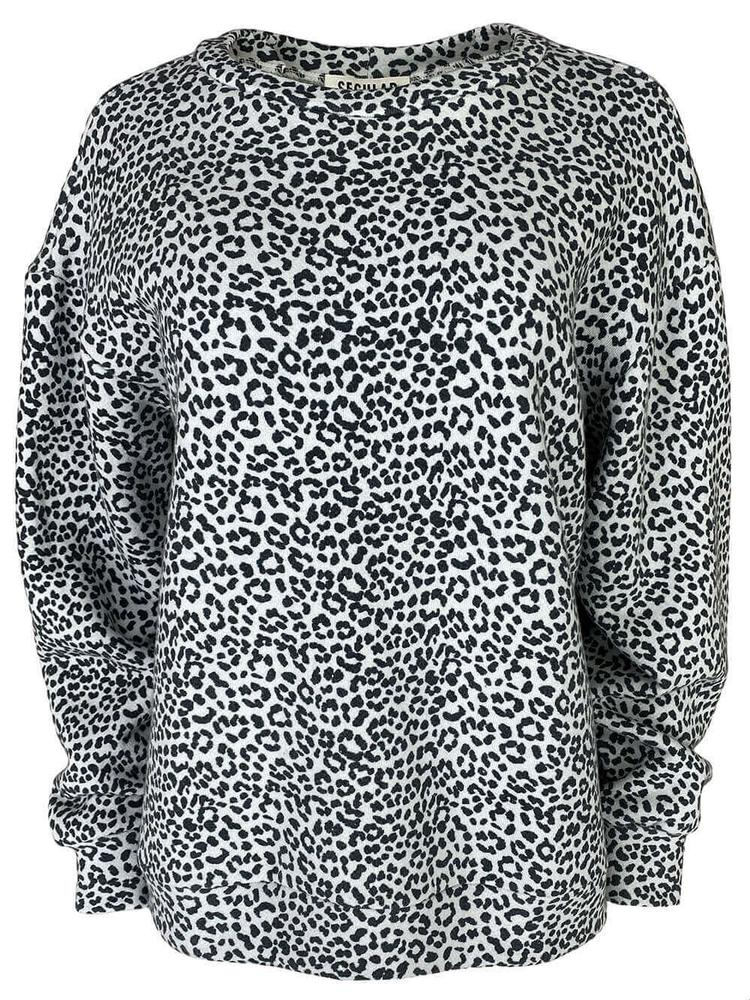 Oversized Cheetah Sweatshirt Item # 674