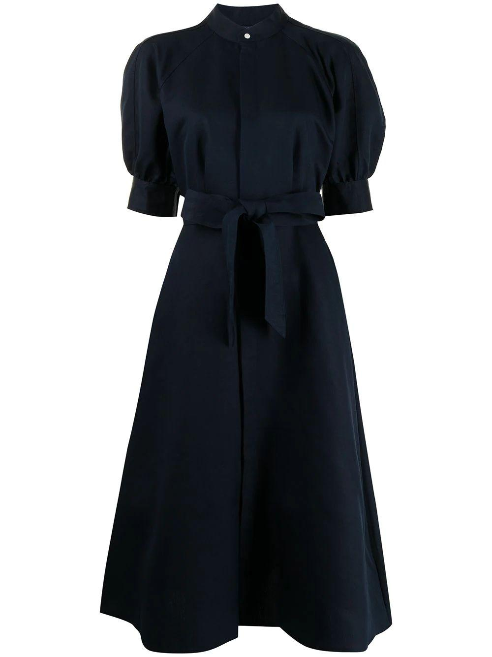 Cici Puff Sleeve Shirt Dress Item # 211827782001
