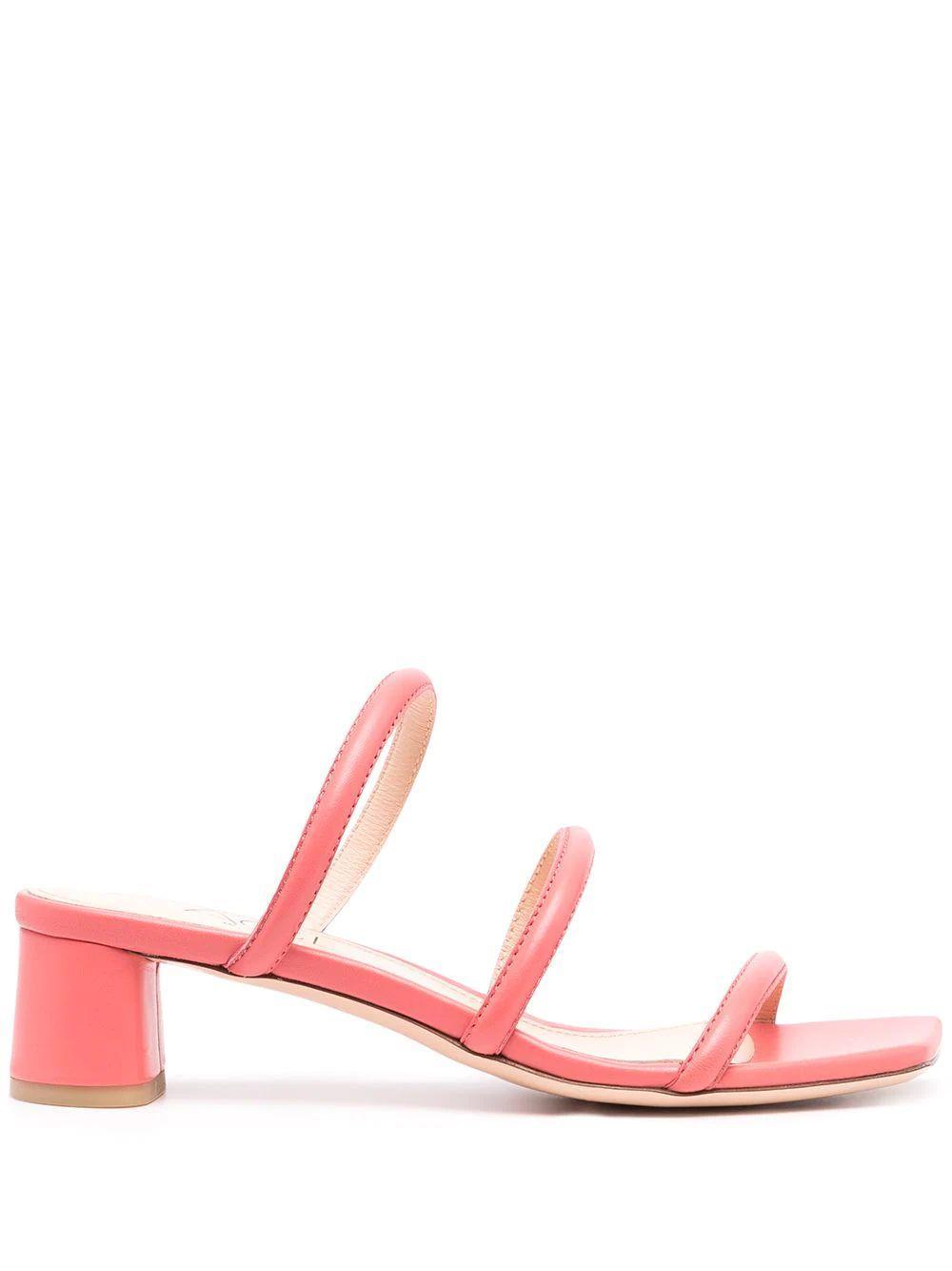 Silvia Strappy Block Heel Sandal
