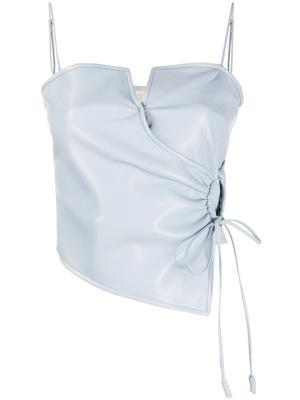 Cosimo Leather Top