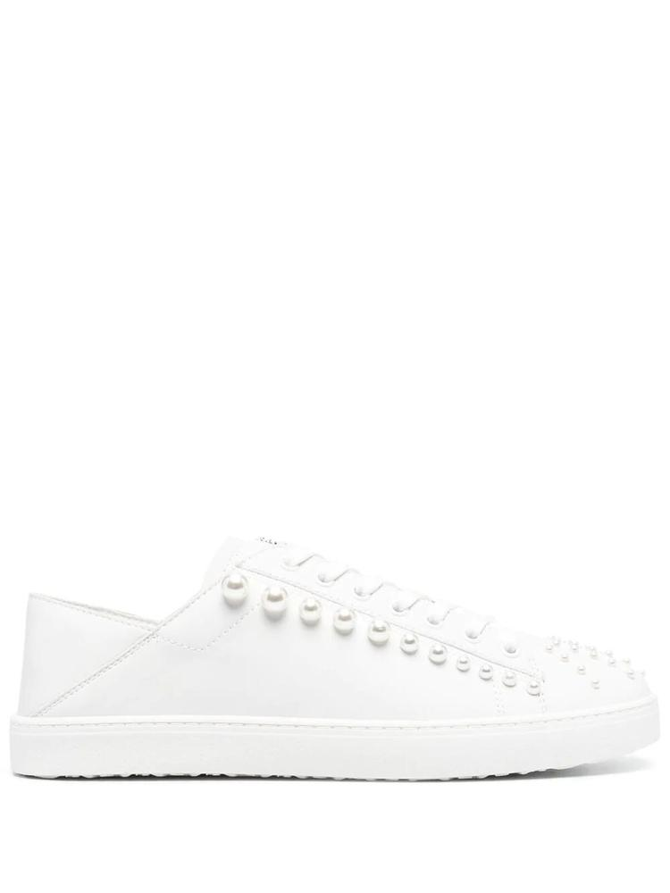 Convertible Sneaker With Pearls