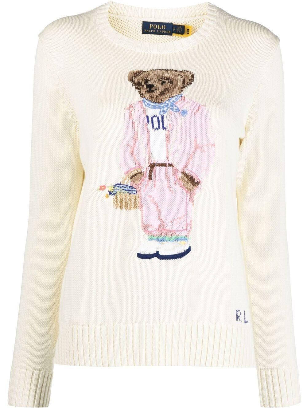 Polo Picnic Bear Sweater Item # 211838006001