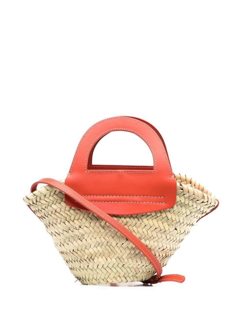 Cabas Mini Basket Tote Item # WBS21CANI002