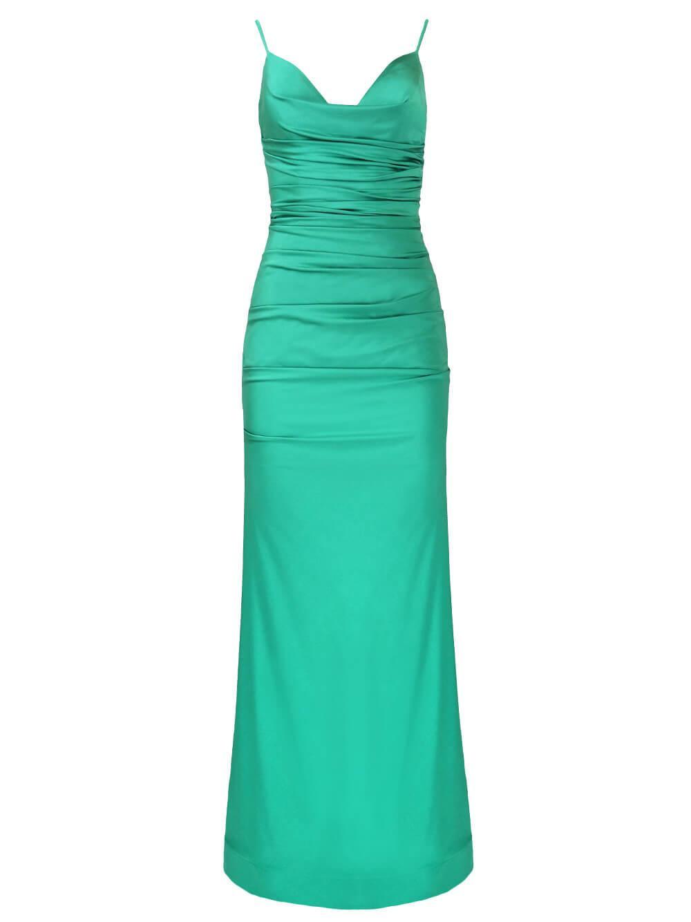 Cowl Neck Gown Item # JVN00968