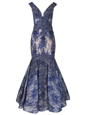 Lace Mermaid Evening Dress
