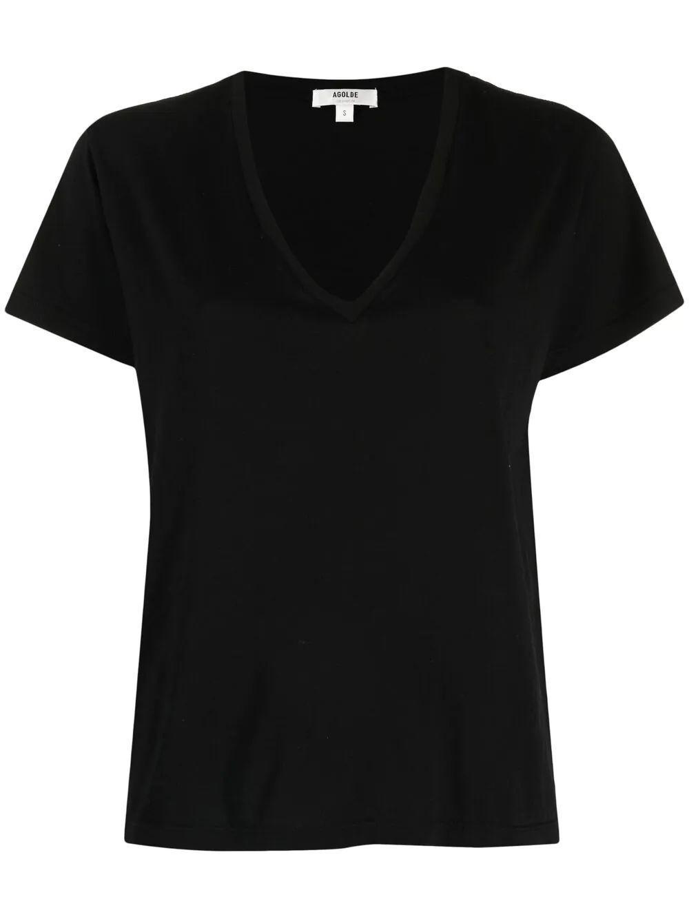 Thea V- Neck T- Shirt Item # A7079