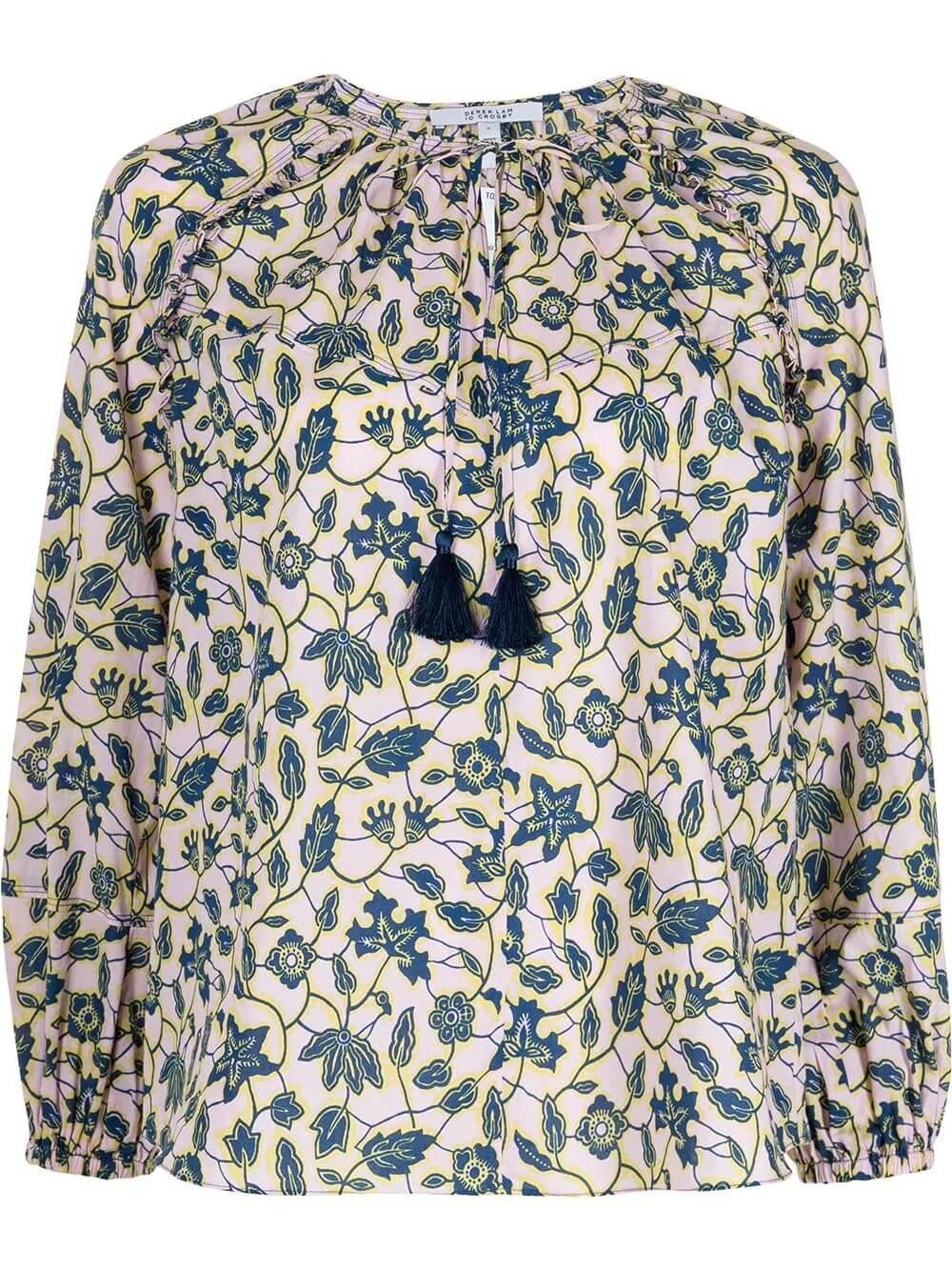 Devon Floral Blouse Item # TS11714IK