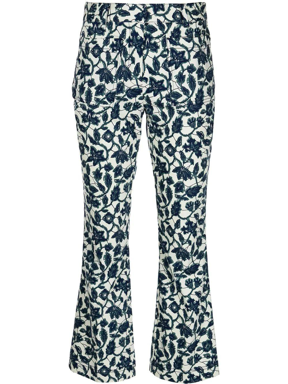 Laurie Cropped Flare Pant Item # TS11114AIF